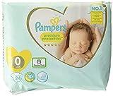 Pampers Größe 0 Premium Protection Baby Windeln, 24 Stück, Weichster...