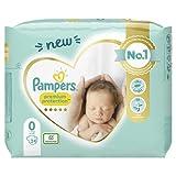 Pampers Baby Windeln Größe 0 (1.5-2.5kg) Premium Protection, 24 Stück,...