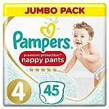 Pampers Größe 4 Premium Protection Baby Windeln Pants, 90 Stück,...