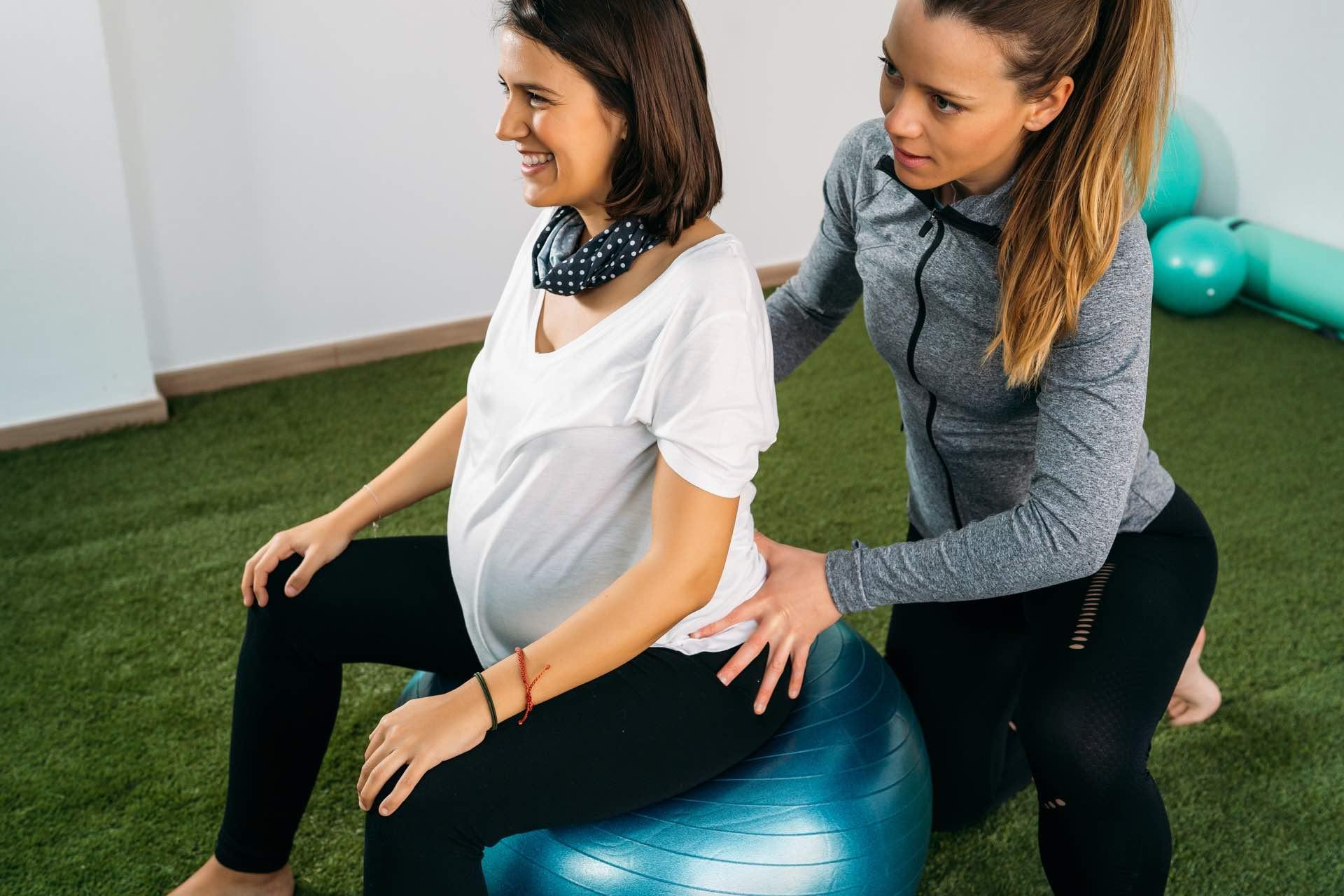 Schwangerschaft Übungen Hebamme